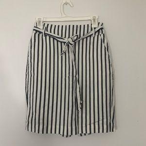 Striped pencil skirt | Ann Taylor